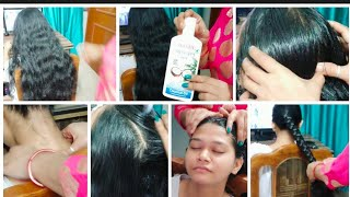 Hair oil massage💆🏻♀️video/बालो 🙆मे अॉयल 💆🏻♀️  मसाज और केयर😉 कैसे करे😃...In hindi😀😀..