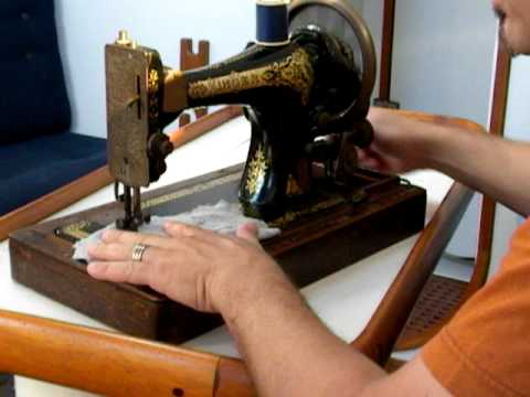 Antique Singer Hand Crank Sewing Machine YouTube Interesting Singer Hand Crank Sewing Machine