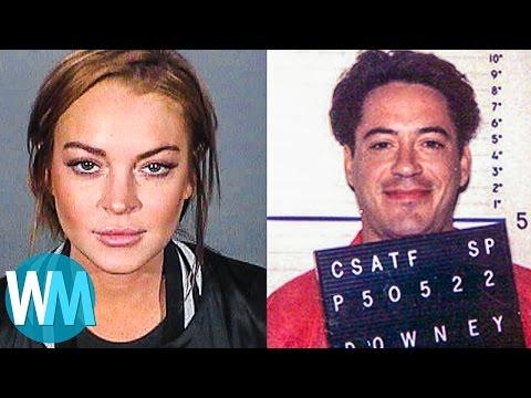 Top 10 Celebrity Drug Busts