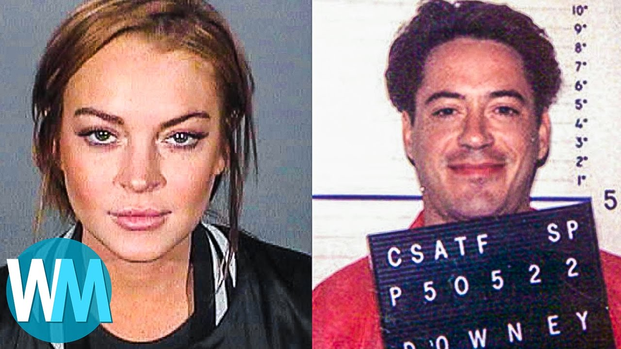 Top 10 Celebrity Drug Busts - YouTube