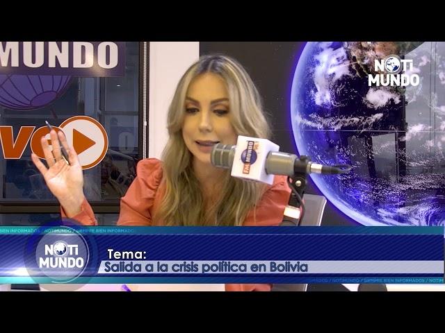 NotiMundo - Francisco Muñoz, situación política en Bolivia