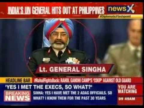UN peacekeeping official backs Indian force commander in Golan