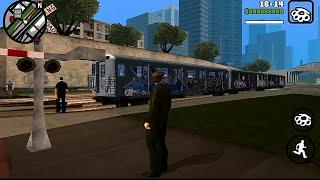 GTA San Andreas Android - Subway Train Mod