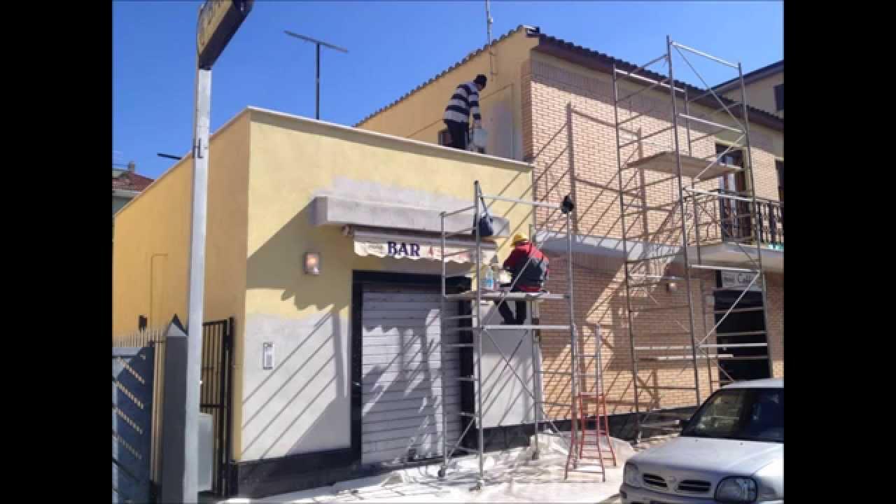 Tinteggiatura interna esterna casa roma tinteggiare pareti - Tinteggiatura casa ...