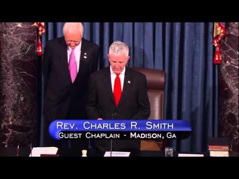 Georgian Leads U.S. Senate in Prayer as Guest Chaplain