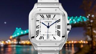 REVIEW: Cartier Santos de Cartier Steel