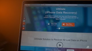 UltData: Best iOS 12 iPhone data recovery software! 🔧