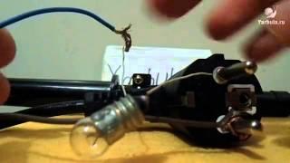 видео Горение 12 В лампочки от 220 В