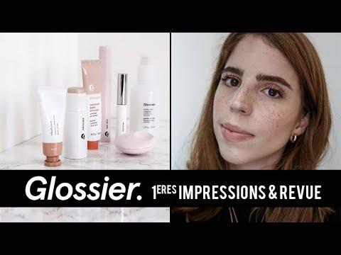 UNBOXING GLOSSIER : PREMIÈRES IMPRESSIONS ET REVUE I Alieenor thumbnail