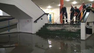 NRWspot.de | Sprinkleranlage setzt Teile einer Schule nach Brand unter Wasser