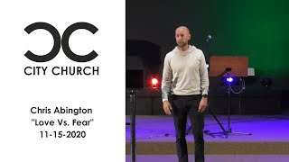 Chris Abington I City Church I 11-15-20