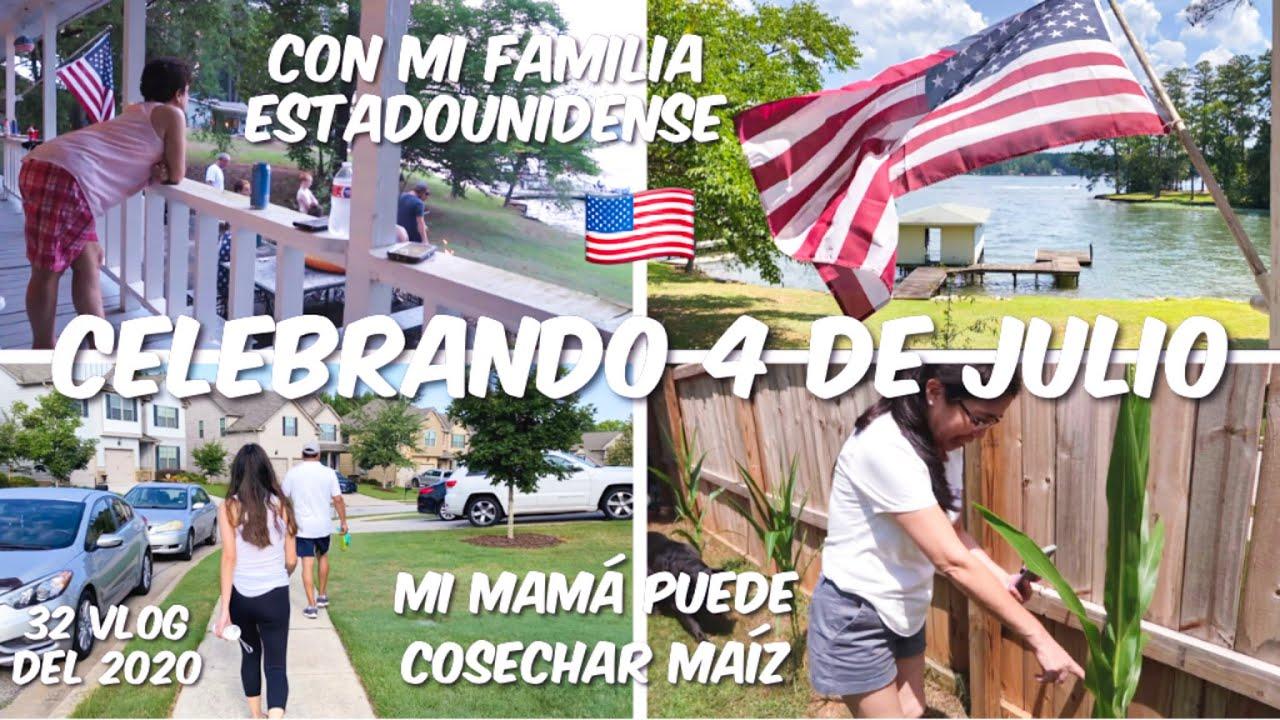 MI VIDA EN USA 🇺🇸|CELEBRAMOS LA INDEPENDENCIA DE USA , 4 DE JULIO 2020 ,CON FAMILIA ESTADOUNIDENSE