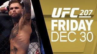 UFC 207: Dominick Cruz vs Cody Garbrandt - Joe Rogan Preview