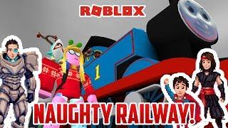 Roblox: THOMAS AND FRIENDS NAUGHTY RAILWAY!