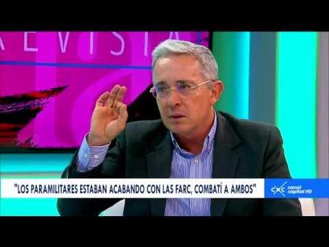 Entrevista con Claudia Palacios - Álvaro Uribe, senador del Centro Democrático