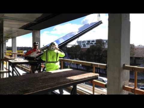 SYNERGY FACADES Panel Installation