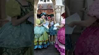 Anastasia and Drizella Tremaine meet and greet