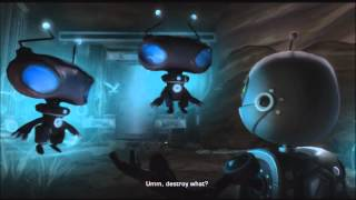 Ratchet & Clank Future: Tools of Destruction Walkthrough Part 8 Planet Fastoon [1/2]