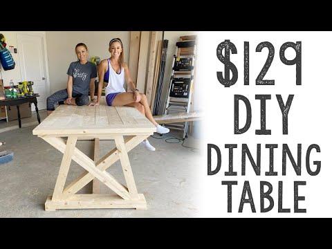 $129 DIY Dining Table