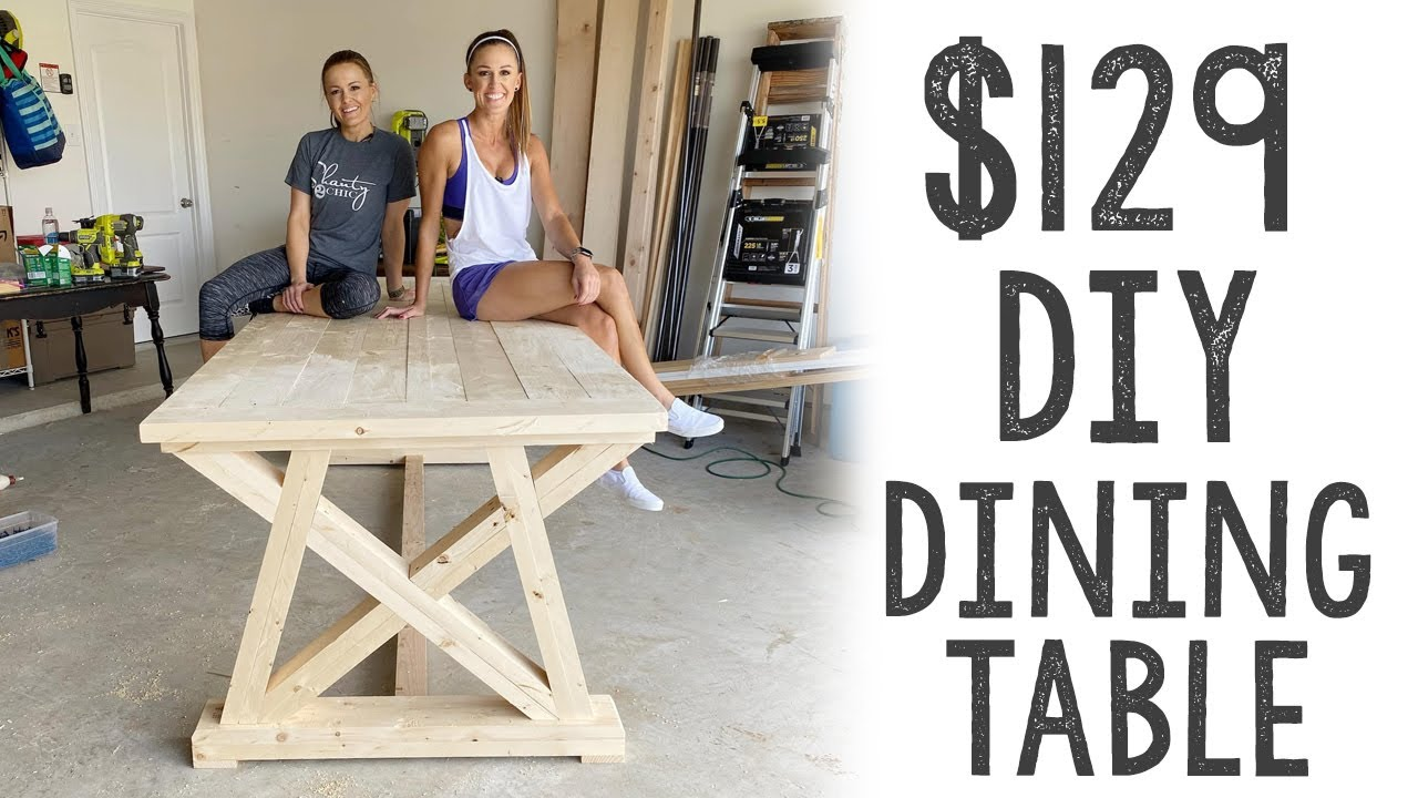129 Diy Dining Table Youtube
