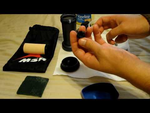 MSR Miniworks EX Maintenance