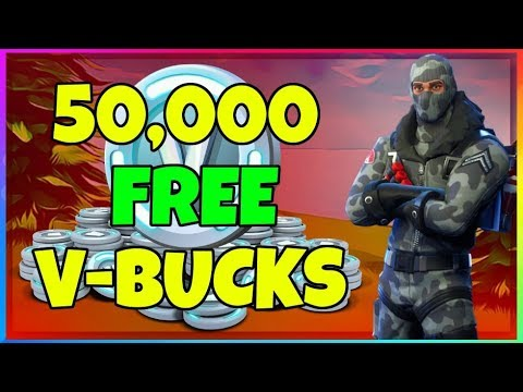 50,000 FREE V-BUCKS Fortnite Battle Royale (Giveaway Winners Announced)