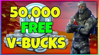50 000 V-BUCKS Fortnite Battle Royale GRATUIT (Gagnants de Giveaway Annoncé)