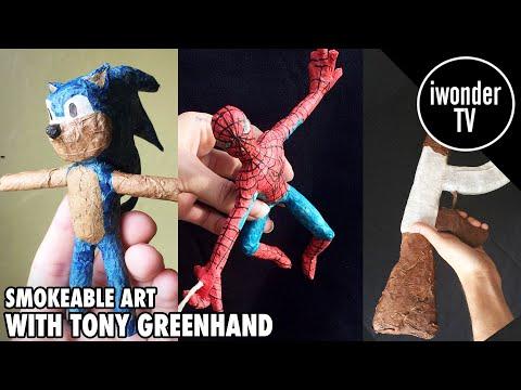Smokeable Art With Tony Greenhand