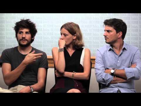 Félix de Givry, Mia & Sven HansenLøve talk EDEN at the Beyond Cinema & Biocom Studio at TIFF