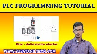 PLC Tutorial-Star Delta Program - Ladder logic