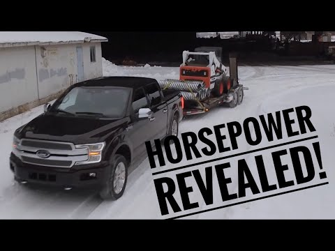 The 2018 F-150 horsepower & torque numbers are here!