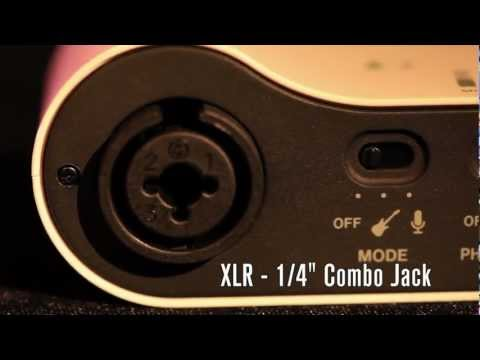 TASCAM iXZ Guitar & Mic interface for iPhone and iPad