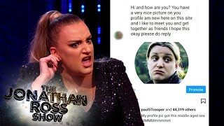 Daisy May Cooper's Hilarious Messages To An Instagram Troll | The Jonathan Ross Show