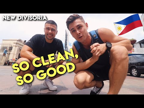 DIVISORIA'S SO CLEAN!! FOREIGNERS FIRST TIME Exploring Manila, Philippines