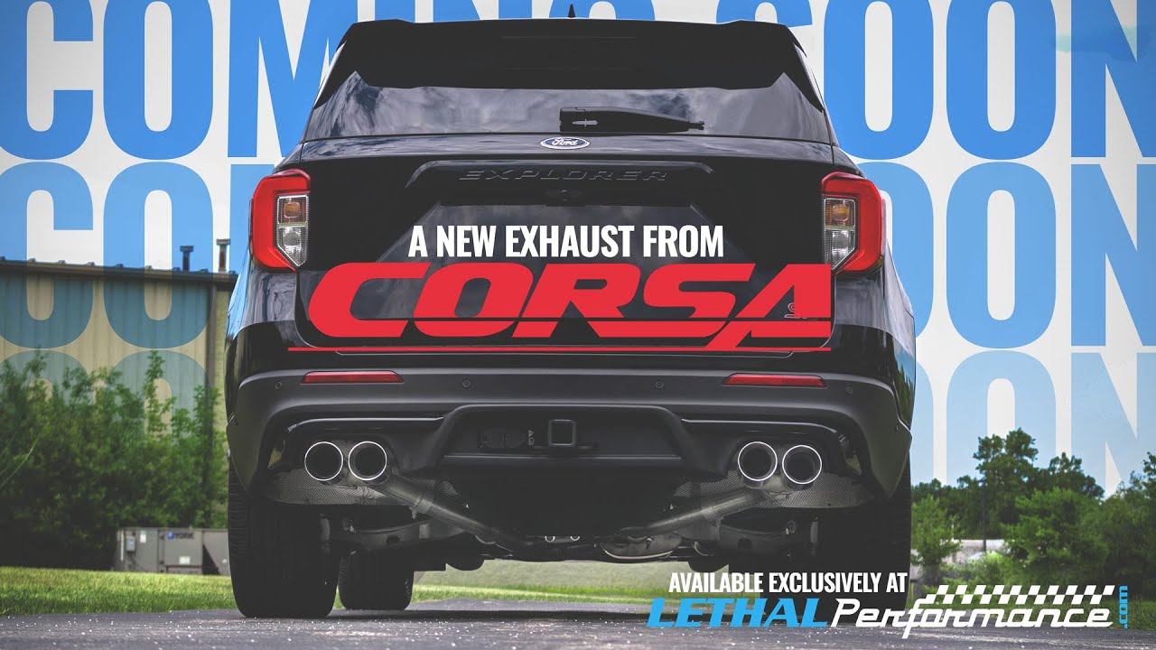 preview the new corsa performance exhaust for the explorer st