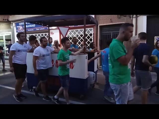 Peña Ojos que no ven, vino que me bebo - Fiestas del Vino Valdepeñas 2017