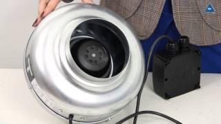 видео Канальный вентилятор купить с доставкой и монтажом на Альтер Эйр
