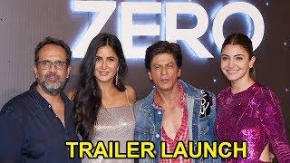 ZERO Official Trailer Launch FULL Video HD I Shahrukh Khan, Katrina Kaif, Anushka Sharma
