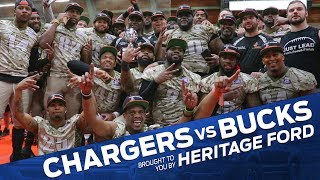 Chargers vs. Bucks Highlights | Vermont Bucks | Heritage Ford