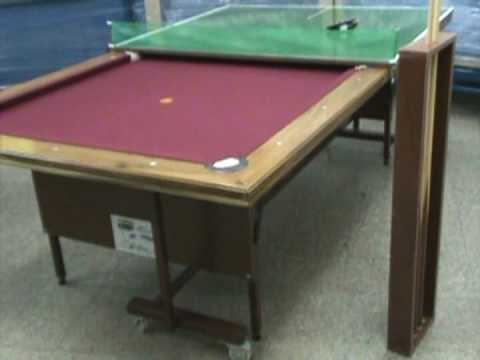 Mesa de Pool MAGIC DREAM Multifuncional Plegable y Movil - YouTube