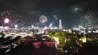 Новогодний салют на Патонге, о. Пхукет, Тайланд! Поздравляю Всех! Счастья! Здоровья!