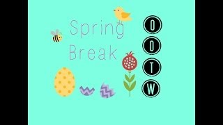 Spring Break OOTW | 2014 | delsbeautygalore Thumbnail