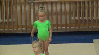 Художественная гимнастика. Открытый урок