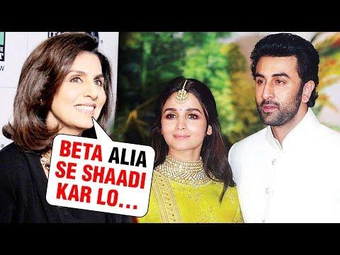 Neetu Kapoor FORCES Ranbir Kapoor And Alia Bhatt To Get MARRIED Soon