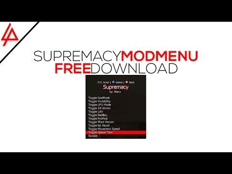Supremacy Host Mod Menu By Matrix - Cracked By Blasts Mods +