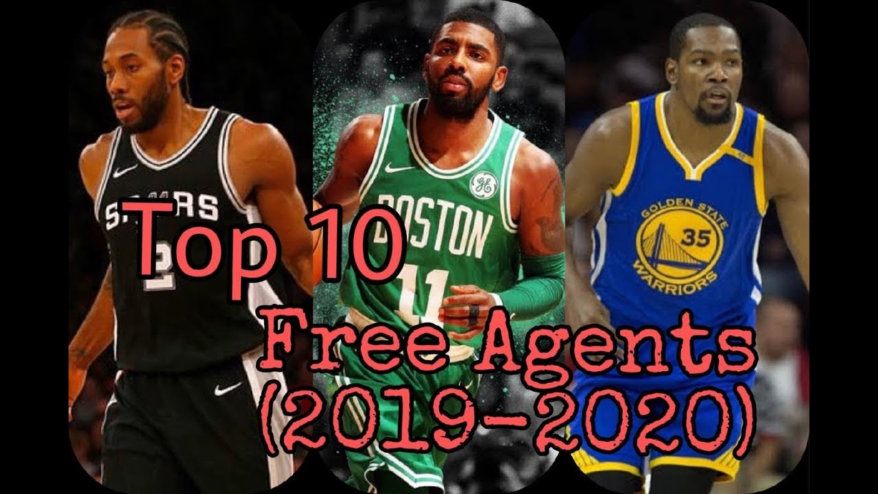Best Nba Free Agents 2020 TOP 10 NBA FREE AGENTS (2019   2020)   YouTube