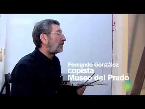 Fernando González Arcelló. Copista del Museo del Prado.
