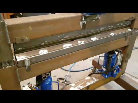 DIY Home Made Press Brake