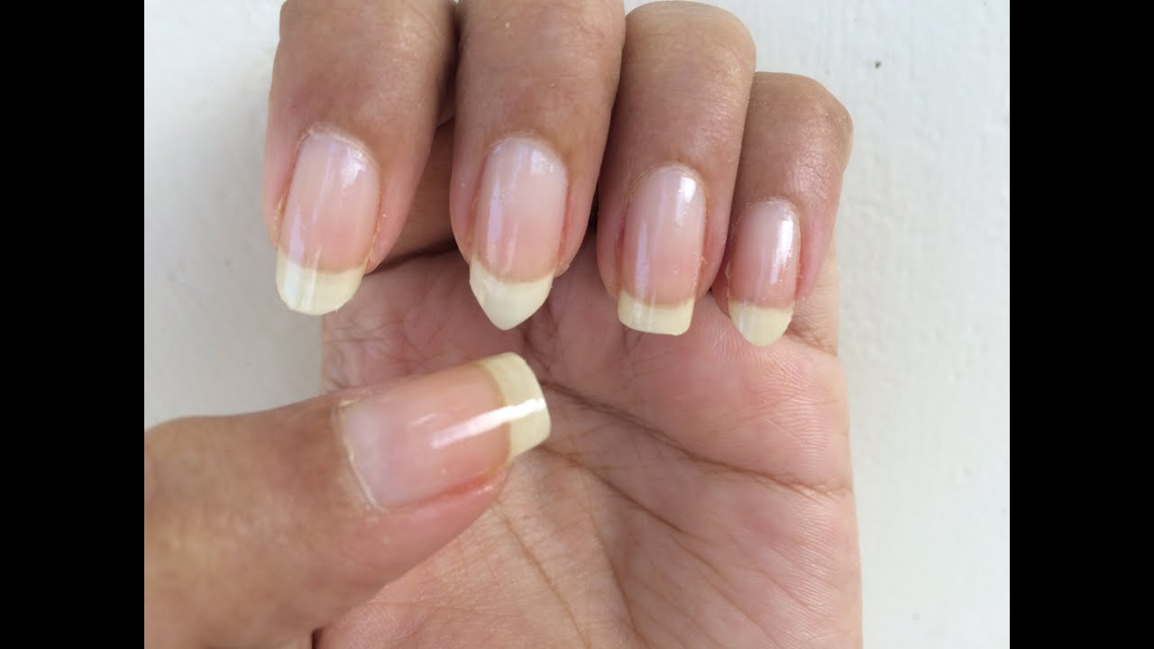 How To File Nails In Diffe Shapes Square Oval Edge Squoval Almond Nail Basics