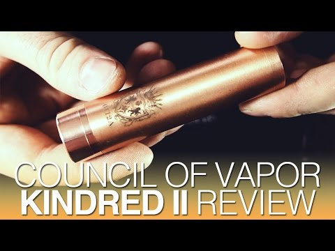 Daily Vape TV- Council of Vapor Kindred II Mod Review